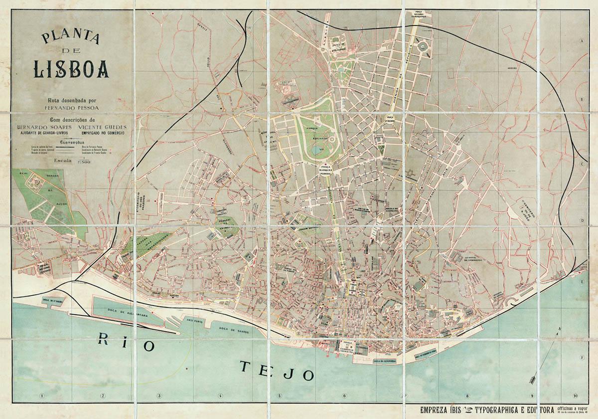 Mapa De Lisboa Conheca Todas As Regioes De Lisboa
